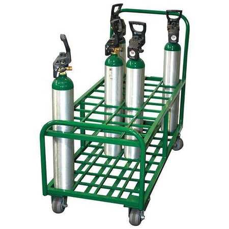 Saftcart Cylinder Trolley 17-3/4 In. W 2400 lb.