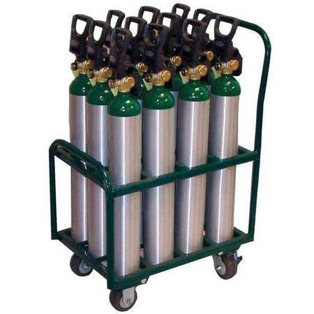Saftcart Cylinder Trolley 2400 lb. 37 In. H