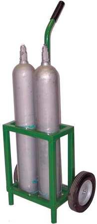 Saftcart Cylinder Trolley 35 In. H 250 lb.