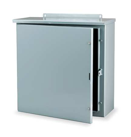 Enclosr Metallic 30In.Hx 24In.Wx8In.D 3R by USA Wiegmann Electrical Enclosures