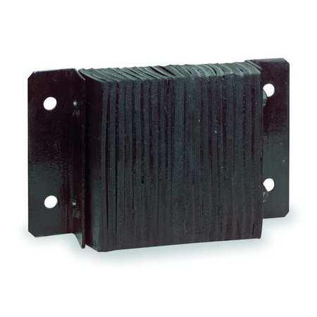 Value Brand Dock Bumper 12x4-1/2x32-3/4 In. Rubber