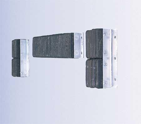Value Brand Dock Bumper 10x4-1/2x14-3/4 In. Rubber