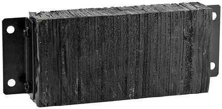 Value Brand Dock Bumper 10x4-1/2x27 In. Rubber