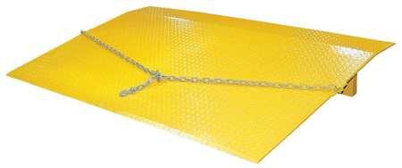 Vestil Dockplate Steel 4400 lb 60 x 48 In