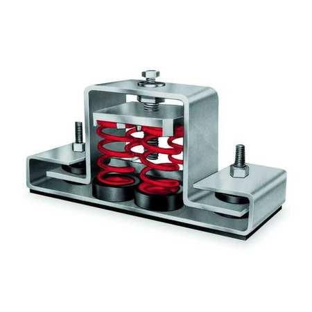 Floor Mount Seismic and Wind Vibration Isolators