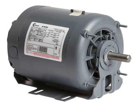 Mtr 3 Ph 1 HP 1745/1140 200 230 Eff 70.0 by USA Century HVAC Belt Drive Motors