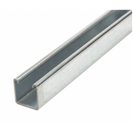 Strut Channel 1 ft. 6 inL Solid Standard by USA Value Brand Electrical Strut Channels