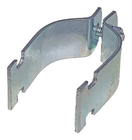 Channel Rigid Pipe Strap 2 1/2 In PK10 by USA Value Brand Electrical Strut Channel Accessories