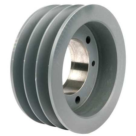 V-Belt Pulleys,  QD,   3 Groove,  Solid Const.