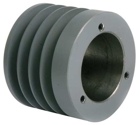 V-Belt Pulleys,  QD,   4 Groove,  Solid Const.