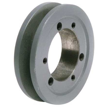 V-Belt Pulleys,  QD,   1 Groove,  Solid Const.