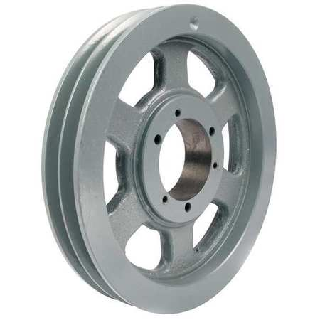 V-Belt Pulleys,  QD,   2 Groove,  Arm Const.
