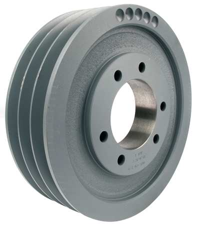 V-Belt Pulleys,  QD,   3 Groove,  Web Const.