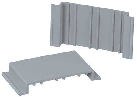 Wire Retainer Gray PVC Wire Retainers by USA Panduit Electrical Raceway Fittings