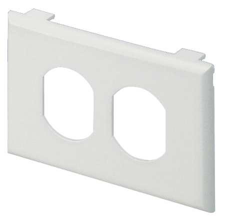 Plate Off White PVC Plates Model T70PIW by USA Panduit Electrical Raceway Fitting Accessories