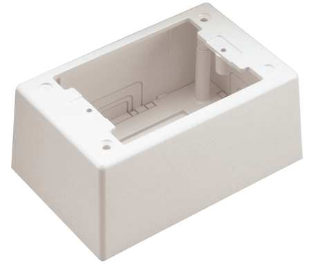 Deep Junction Box PVC Boxes by USA Panduit Electrical Raceway Fitting Accessories