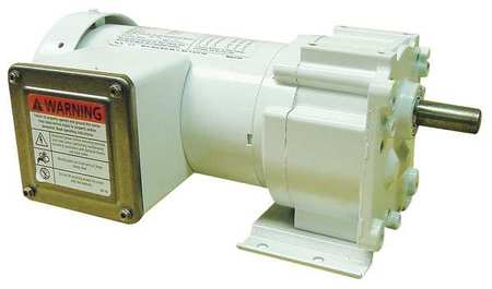 AC Gearmotor 30 rpm TEFC 208 230V by USA Dayton AC Gear Motors