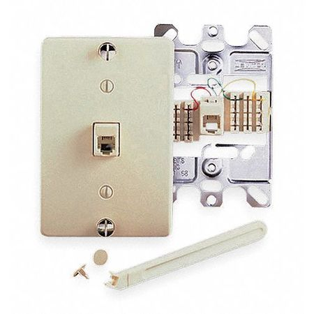 Jack Wall by USA Leviton Voice & Data Outlets Boxes Faceplates