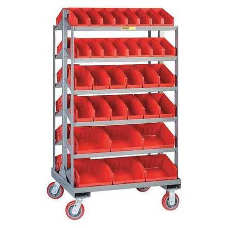 Little Giant Bin Cart Sloped Shelf 30 x 36