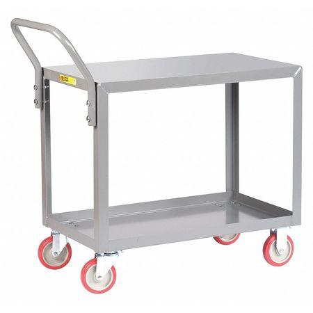 Little Giant Service Cart Flush Shelf 800 lb. 24x36