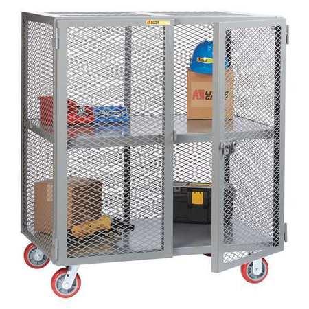 Little Giant Mobile Storage Locker 2000 lb. 30 x 72 Type SC-3072-6PPY