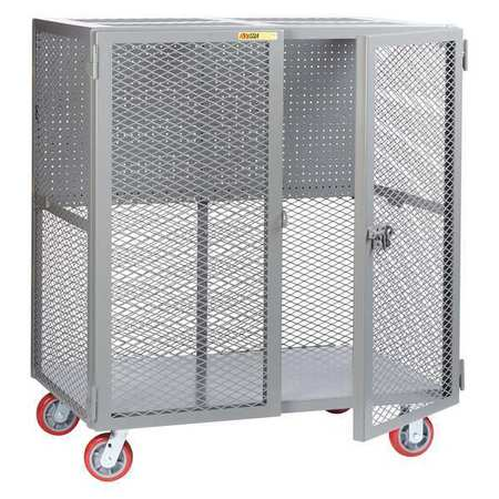 Little Giant Tool Security Cart w/Pegboard Storage