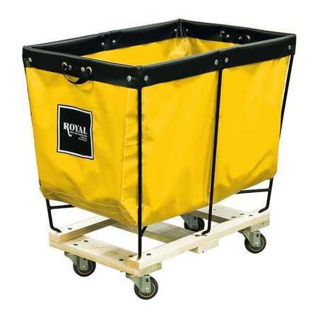Royal Basket Elevated Truck 6 Bu Yellow Vinyl