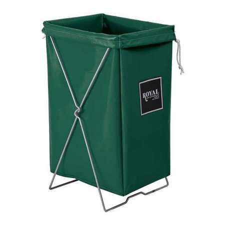 Royal Basket Hamper Kit Green Vinyl