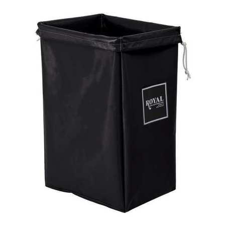 Royal Basket Hamper Bag Black Vinyl