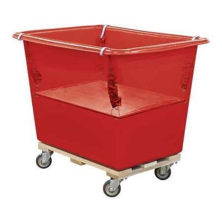 Royal Basket Poly Spring Lift 18 Bu Red