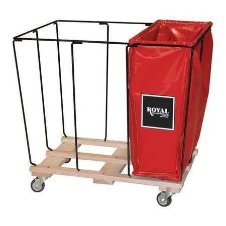 Royal Basket Drop In 14 Bu Red 1/3 Size