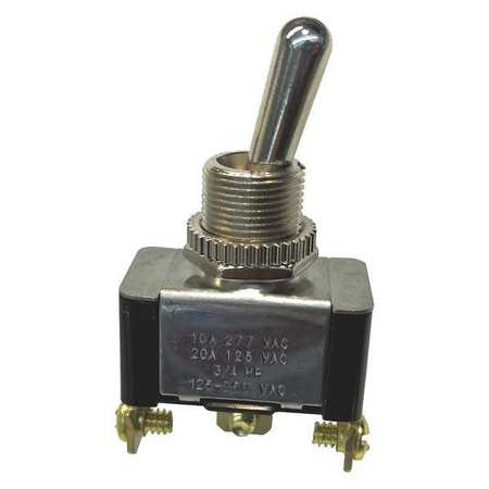 Toggle Switch SPDT 20A 125VAC On/On Min. Qty 2 by USA Gardner Bender Electrical Toggle Switches