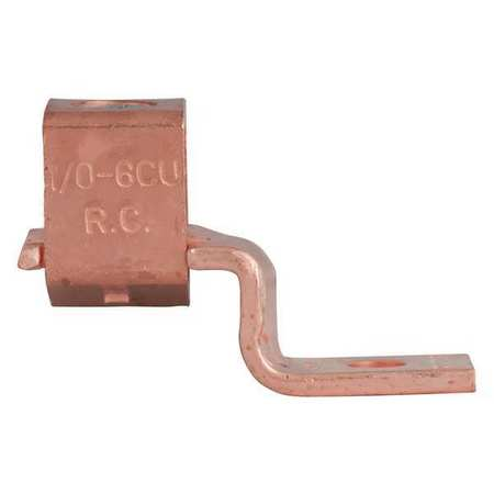 Mechanical Lug Copper 1/0 to 6 AWG PK2 by USA Gardner Bender Electrical Wire Mechanical Connectors