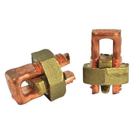Split Bolt Connectors Copper PK2 Model GSBC 4N by USA Gardner Bender Electrical Wire Split Bolt Connectors