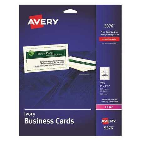 Business Cards,Laser,2x3.5,PK250