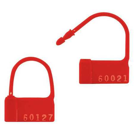 Pack of 200 TydenBrooks All Seal 8 Red,