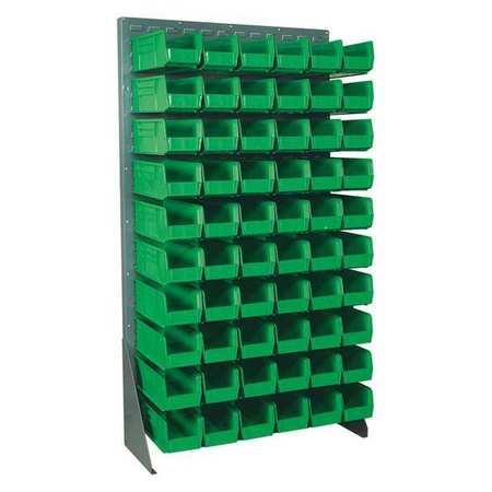 Floor Rack Bin Organizer,36x12.5x66