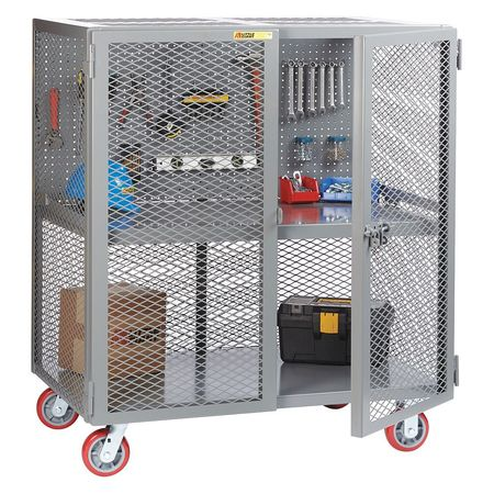 Little Giant Security Cart Pegboard Tool 24x60