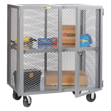 Little Giant Mobile Storage Locker Adj Shelf 30x60