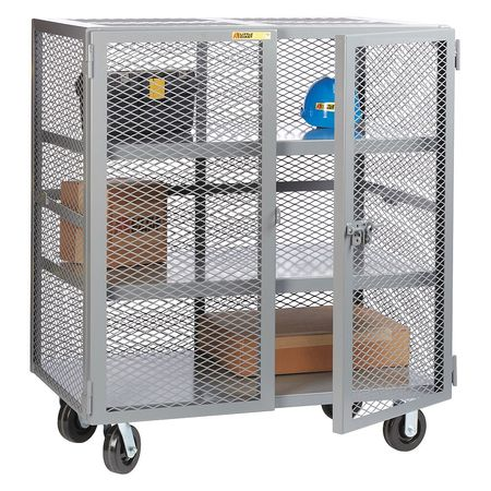Little Giant Mobile Storage Locker 2 Shelf 30x60
