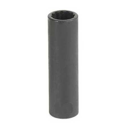 """Grey Pneumatic Socket 13mm 3/8""""D Impact 12pt. D Blk"""