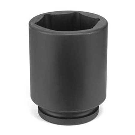 """Grey Pneumatic Socket 33mm 1""""D Impact 6pt. D Blk"""