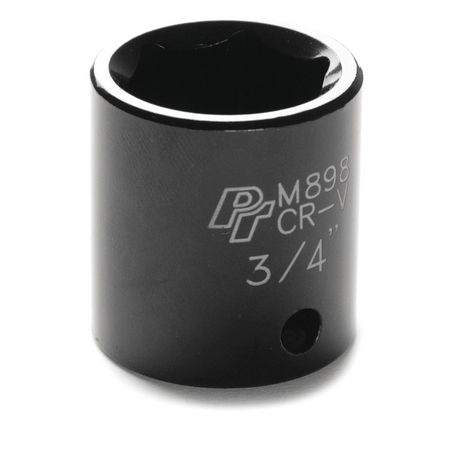 "Performance Tool Impact Socket 3/8"" D 6pt. 3/4"