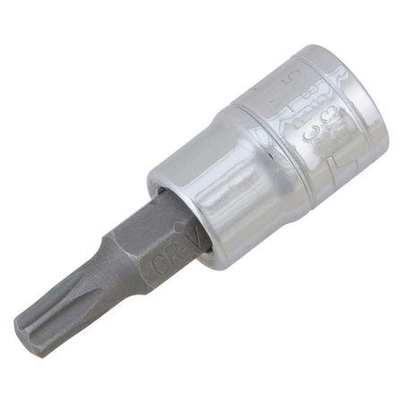 """Performance Tool Star Bit Socket 1/4"""" D T 25"""