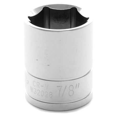 "Performance Tool Standard Socket 1/2"" D 6pt. 7/8"