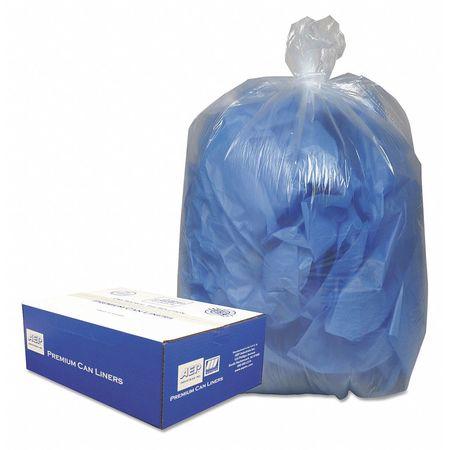 Trash Bag,7-10gal,clear,pk500