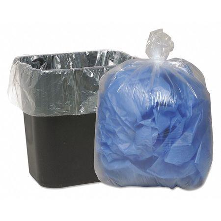 Trash Bag,16gal,clear,pk500