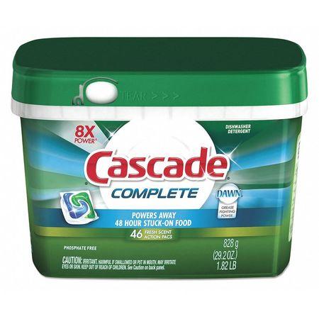 Detergent Pacs,46pk,pk46