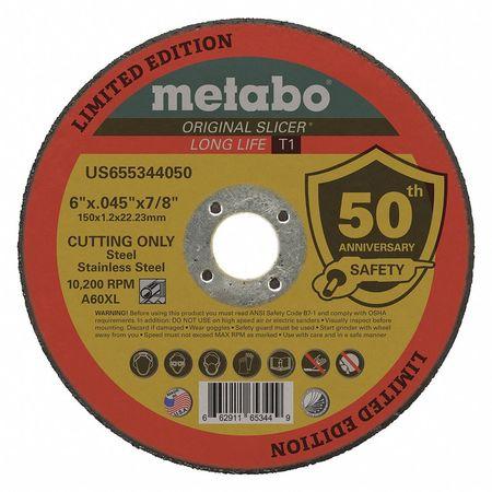 Cut-off Wheel,type 1,6 Dia.,grit 60