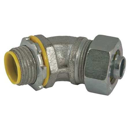 Insulated Connector 1/2 In. 45 Deg by USA Raco Electrical Conduit Fittings